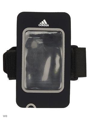 Чехол на руку R MED ARMPO COV  BLACK/BLACK/SILVMT Adidas. Цвет: черный