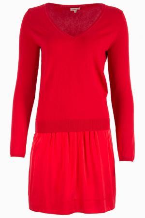 Платье Parosh. Цвет: красный