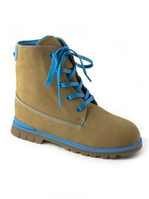 Ботинки ОРТОМОДА. Цвет: желтый