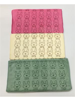 Набор полотенец A and C Collection. Цвет: бежевый, розовый, зеленый