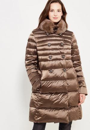 Пуховик Conso Wear. Цвет: коричневый