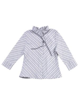 Блузка ВЕНЕЙЯ. Цвет: серый