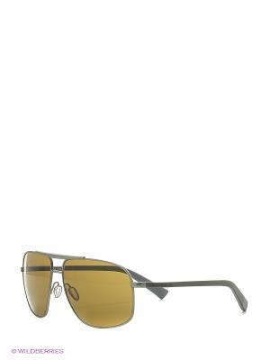 Солнцезащитные очки DOLCE & GABBANA. Цвет: серый