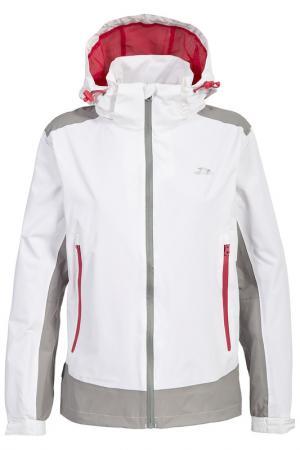 Спортивная куртка Trespass. Цвет: белый