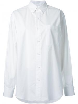 Классическая рубашка Enföld. Цвет: белый