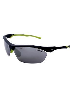 Солнцезащитные очки Exenza. Цвет: синий,серый,желтый
