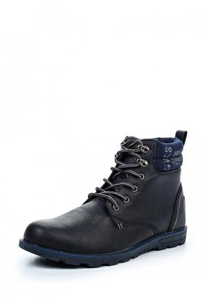 Ботинки Montefiori. Цвет: синий