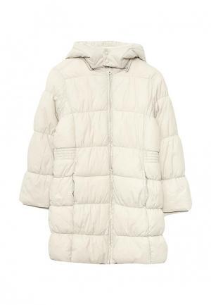 Куртка утепленная Chicco. Цвет: бежевый