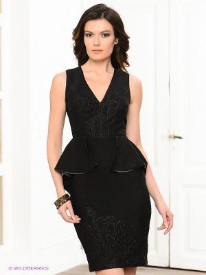 Платье BIRRIN. Цвет: черный
