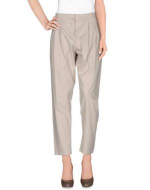 Повседневные брюки JO NO FUI. Цвет: бежевый
