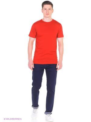 Футболка Derby, regular fit Alan Red. Цвет: красный