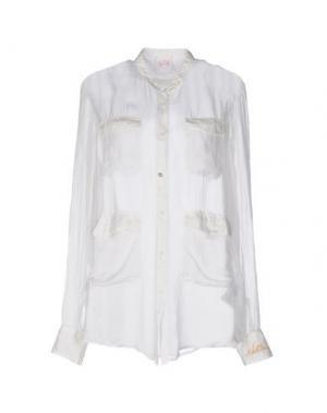 Pубашка NOLITA. Цвет: белый