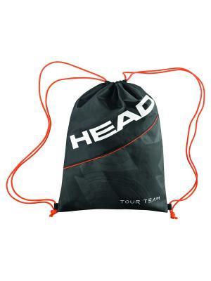 Мешок для обуви Tour Team Shoe Sack HEAD. Цвет: черный, белый