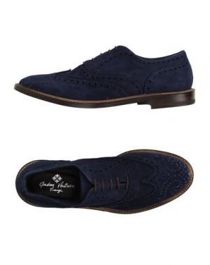 Обувь на шнурках ANDREA VENTURA FIRENZE. Цвет: темно-синий