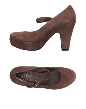Туфли G.P. PER NOY BOLOGNA. Цвет: светло-коричневый