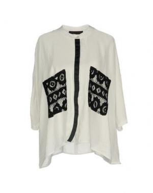 Pубашка CAFèNOIR. Цвет: белый