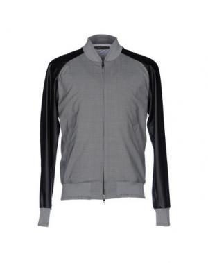 Куртка FUTURO. Цвет: серый