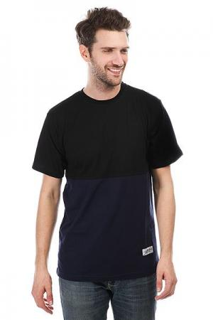 Футболка  Classic Combo Black/Navy Anteater. Цвет: черный,синий