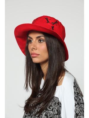 Шляпа Lak Miss. Цвет: красный