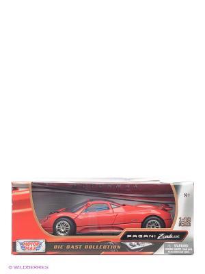 Машинка коллекционная Pagani Zonda C12 в масштабе 1к18 Motormax. Цвет: красный
