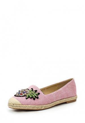 Эспадрильи Catisa. Цвет: розовый