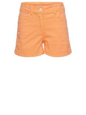 Шорты TOM TAILOR. Цвет: оранжевый