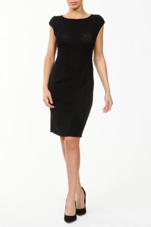 Платье вязаное Catherine Malandrino. Цвет: черный