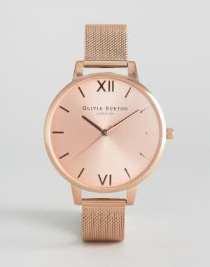 Olivia Burton Часы цвета розового золота. Цвет: золотой