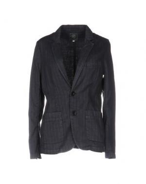 Пиджак LOCAL APPAREL. Цвет: темно-синий