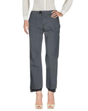 Повседневные брюки GET LOST. Цвет: серый