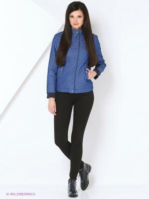 Куртка КАЛIНКА. Цвет: синий