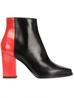 Ботинки по щиколотку Pollini. Цвет: чёрный