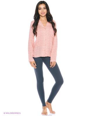 Блузка Calvin Klein. Цвет: розовый
