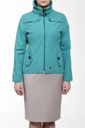 Куртка Loft. Цвет: голубой