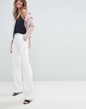 Morgan Широкие брюки. Цвет: белый