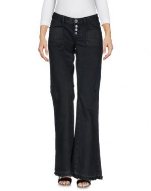 Джинсовые брюки ONE x ONETEASPOON. Цвет: стальной серый