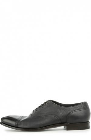 Туфли с рожком для обуви H`D`S`N Baracco. Цвет: темно-синий