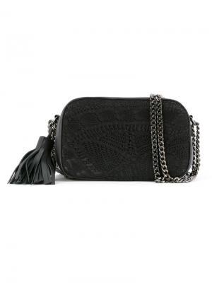 Crossbody bag Martha Medeiros. Цвет: чёрный
