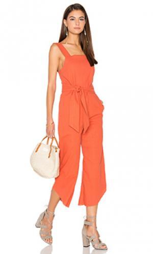 Комбинезон Lucca Couture. Цвет: оранжевый