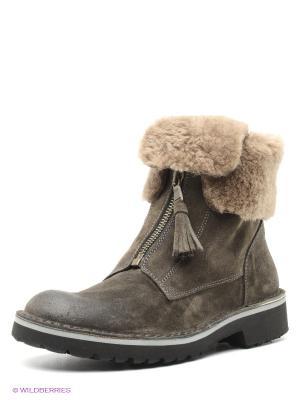 Ботинки SK. Цвет: темно-серый