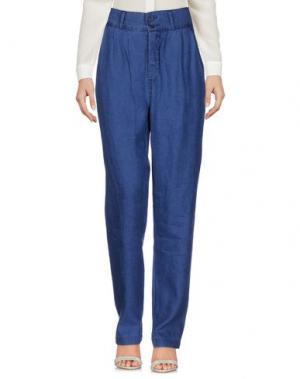 Повседневные брюки NOLITA. Цвет: синий