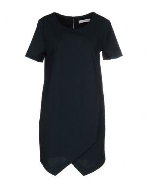 Короткое платье ALFONSO RAY. Цвет: темно-зеленый
