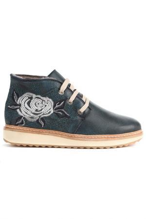 Ботинки GIEMME. Цвет: темно-синий