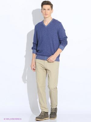 Джемпер LERROS. Цвет: серо-голубой, серый, темно-фиолетовый