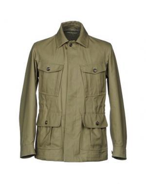 Куртка DUNHILL. Цвет: зеленый-милитари