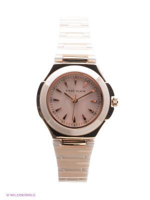 Часы ANNE KLEIN. Цвет: персиковый