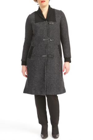Пальто KOKOMARINA. Цвет: серый