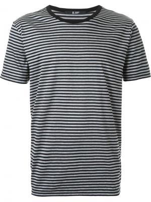Полосатая футболка Hl Heddie Lovu. Цвет: чёрный