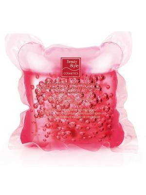 Маска укрепляющая кислородная СО2 с фитостволовыми клетками яблока Beauty Style. Цвет: малиновый