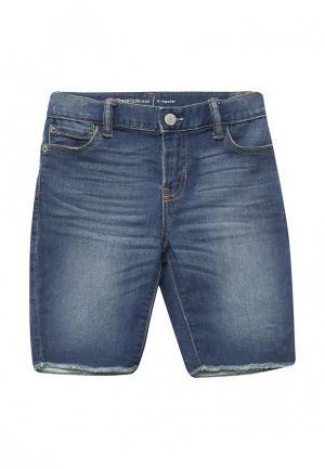 Шорты джинсовые Gap. Цвет: синий